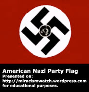American Nazi Party Flag