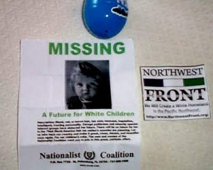 Leaflets Distributed Inside Easter Eggs